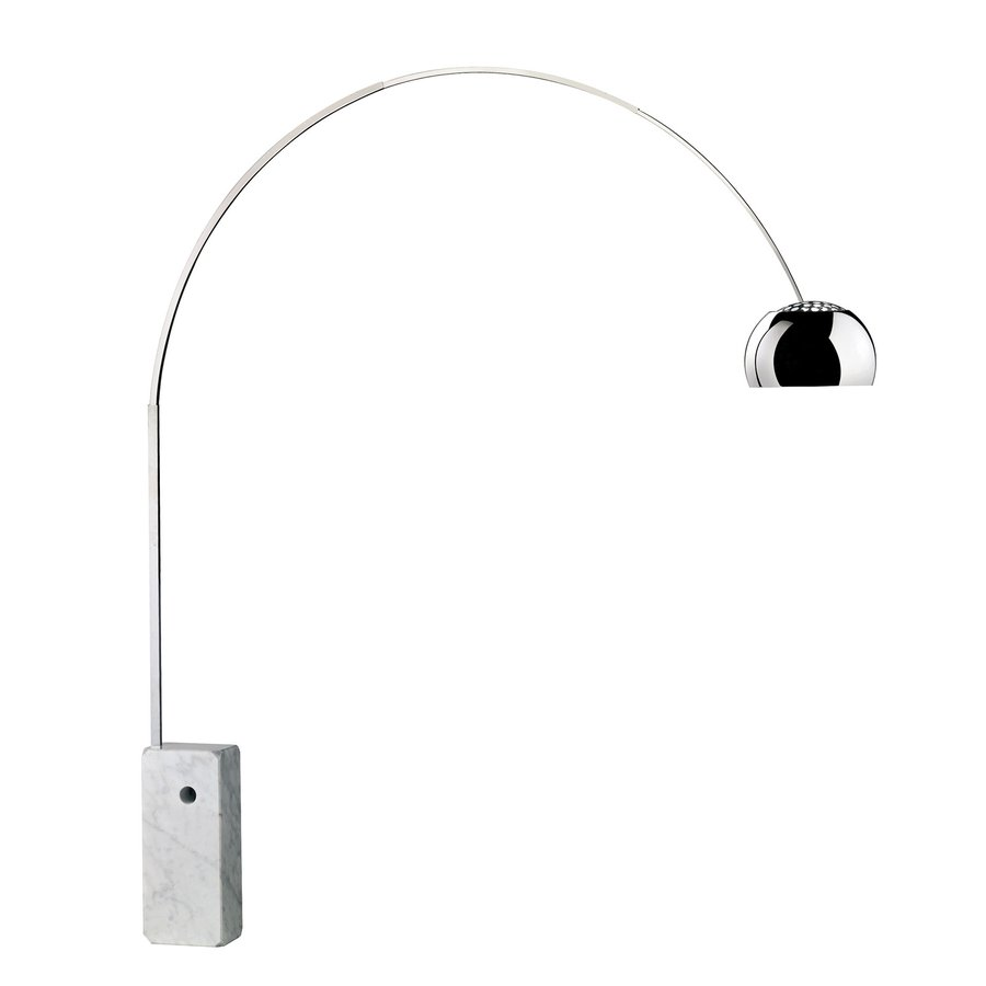 Arco floor lamp by flos ecc for Iconic design lamps
