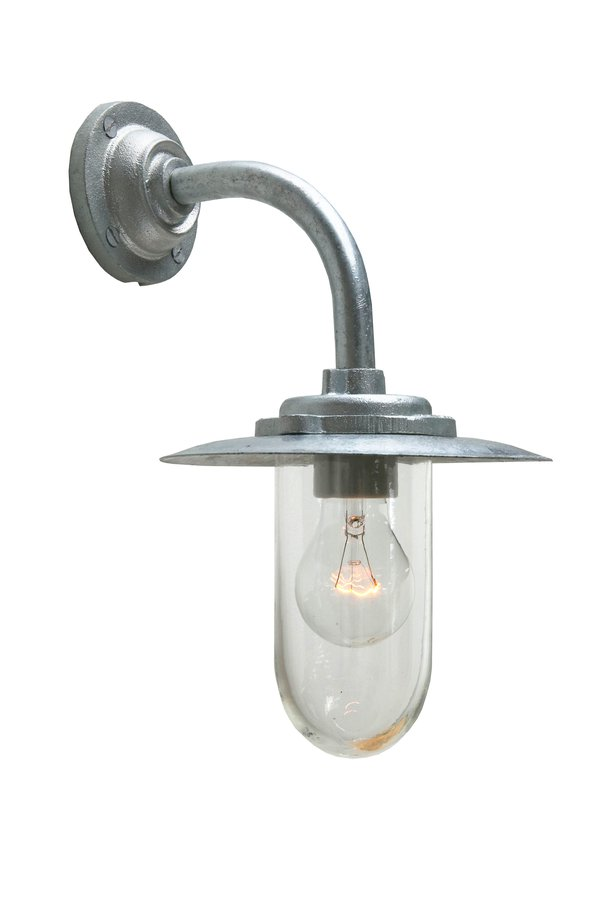 Exterior bracket light 7677 by original btc ecc classic galvanized outdoor lighting catalogued for more than half a century still widely specified where traditional architecture requires sympathetic aloadofball Choice Image
