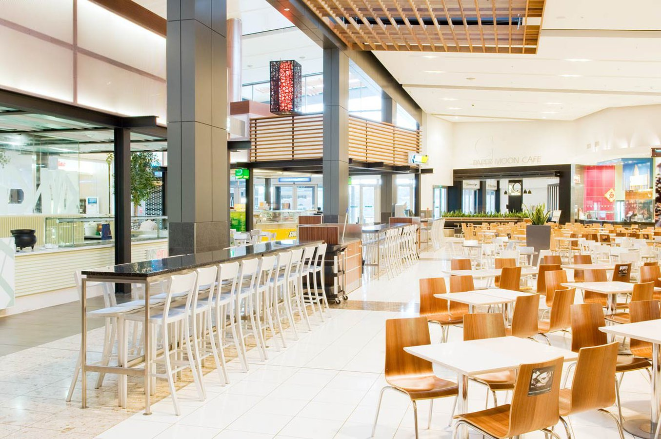 The Food Court At Westfield Albany Called For Commercial Furniture That  Could Appeal To A Wide Variety Of People. As Well As This, The Products  That Were ...