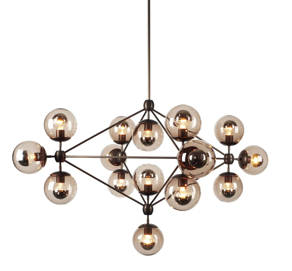 Modo Chandelier 21 light by Roll Hill ECC
