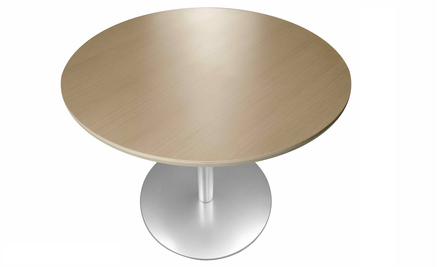 Oval Square Or Round Table In A Variety Of Dimensions And Finishes With Single Solid Leg Supporting The Top Minimalism Formal Simplicity