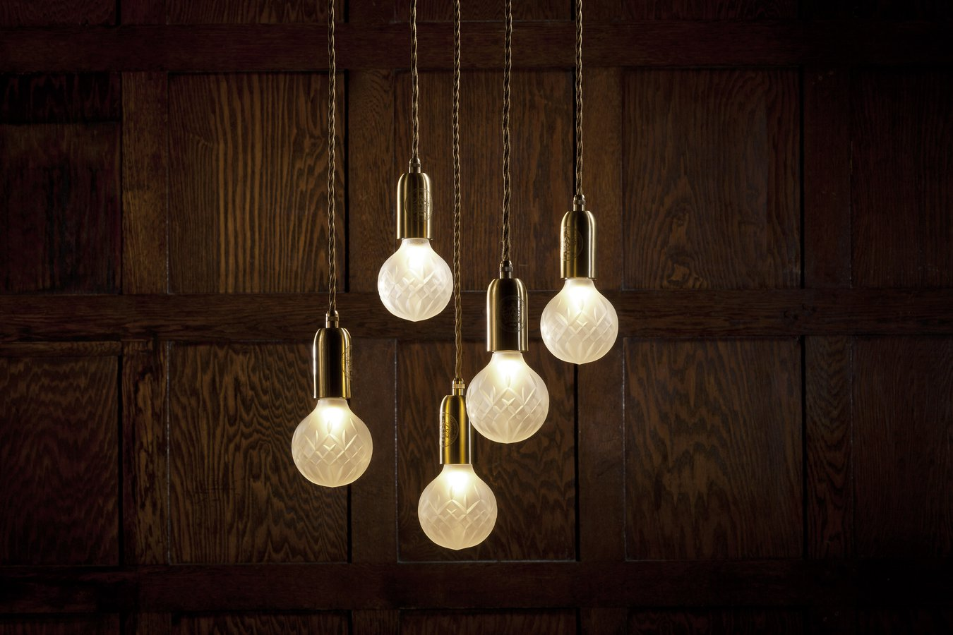 Frosted Crystal Bulb pendant by Lee Broom — | ECC