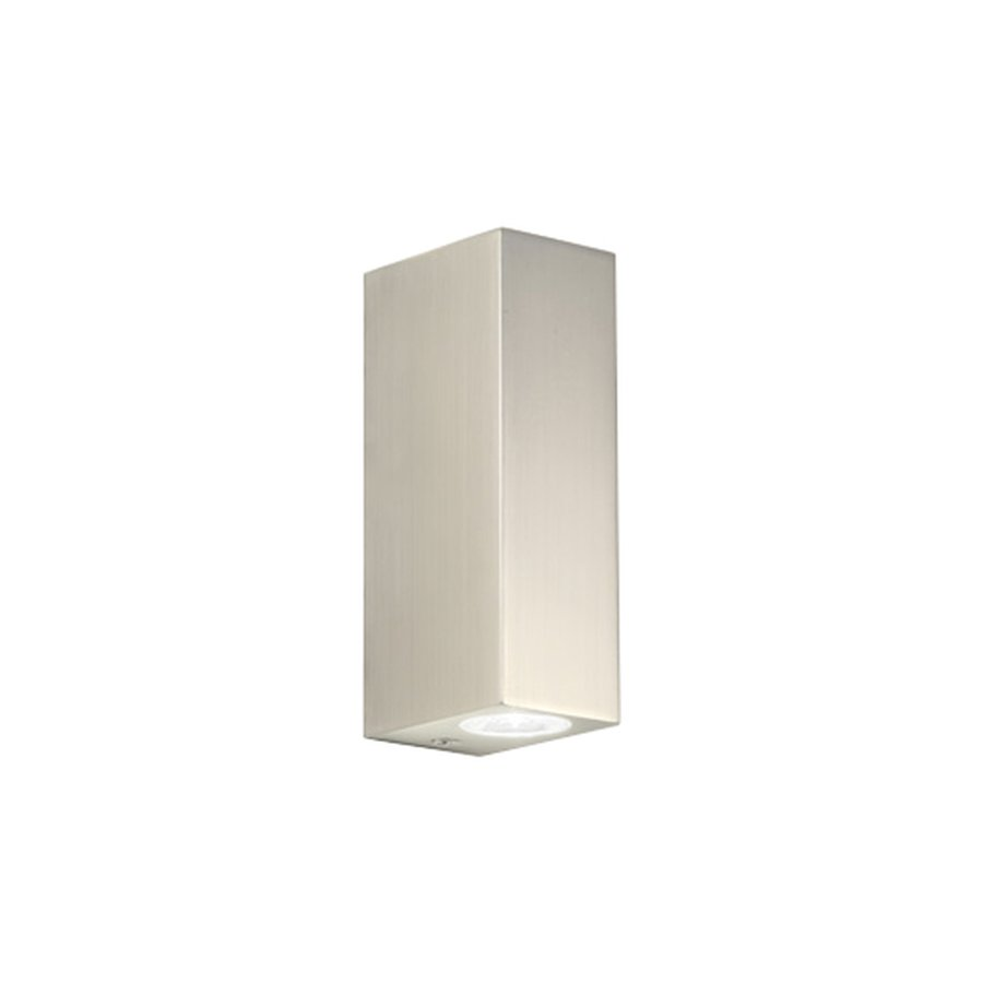 Bloc wall light by astro lighting ecc bloc bathroom wall light uses two 1w leds ip44 rated suitable for bathroom zones 2 and 3 class 2 double insulated includes integral led driver aloadofball Images