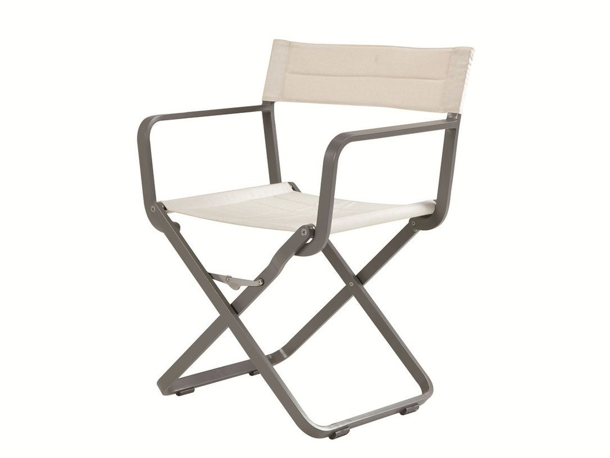 folding metal directors chairs. model that restyles the \u201cdirector\u0027s chair\u201d in a modern and functional manner, using resistant durable materials. it has fold-up frame is made folding metal directors chairs 0