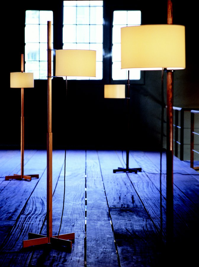 Tmm floor lamp by santa cole ecc the most celebrated piece by one of the masters of spanish design the tmm is an exquisite demonstration of formal serenity and functional efficiency aloadofball Choice Image