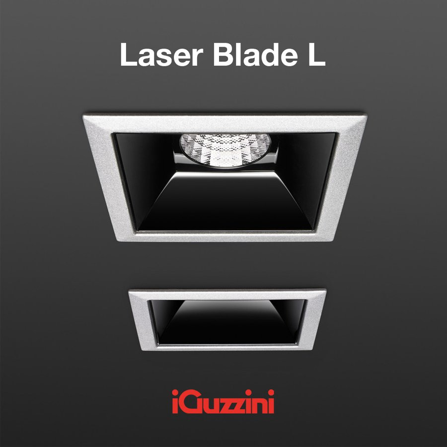 laser blade l high contrast single by iguzzini ecc. Black Bedroom Furniture Sets. Home Design Ideas