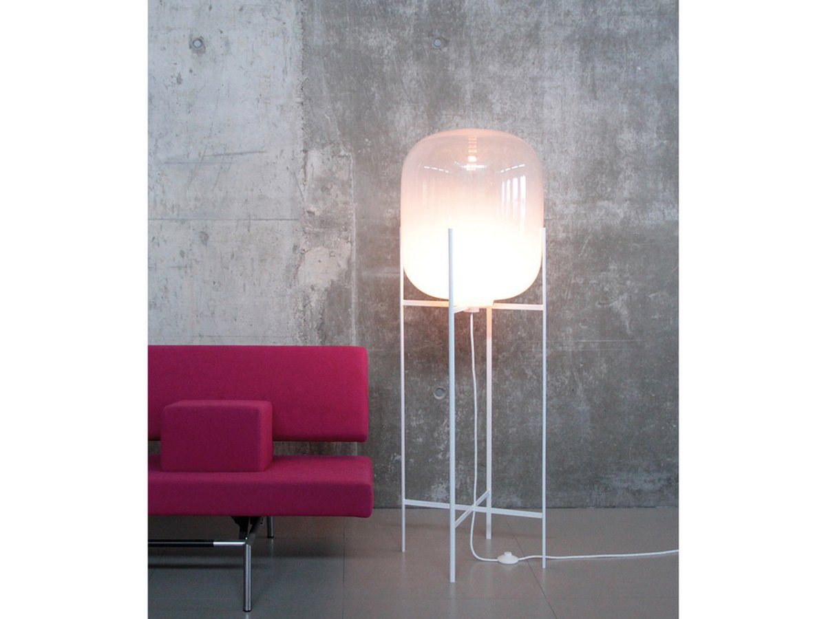 Oda Is A Reservoir Of Light Huge Floor Lamp For The Living Room Next To Your Sofa Or Armchair Sebastian Herkner S Aim Was Create