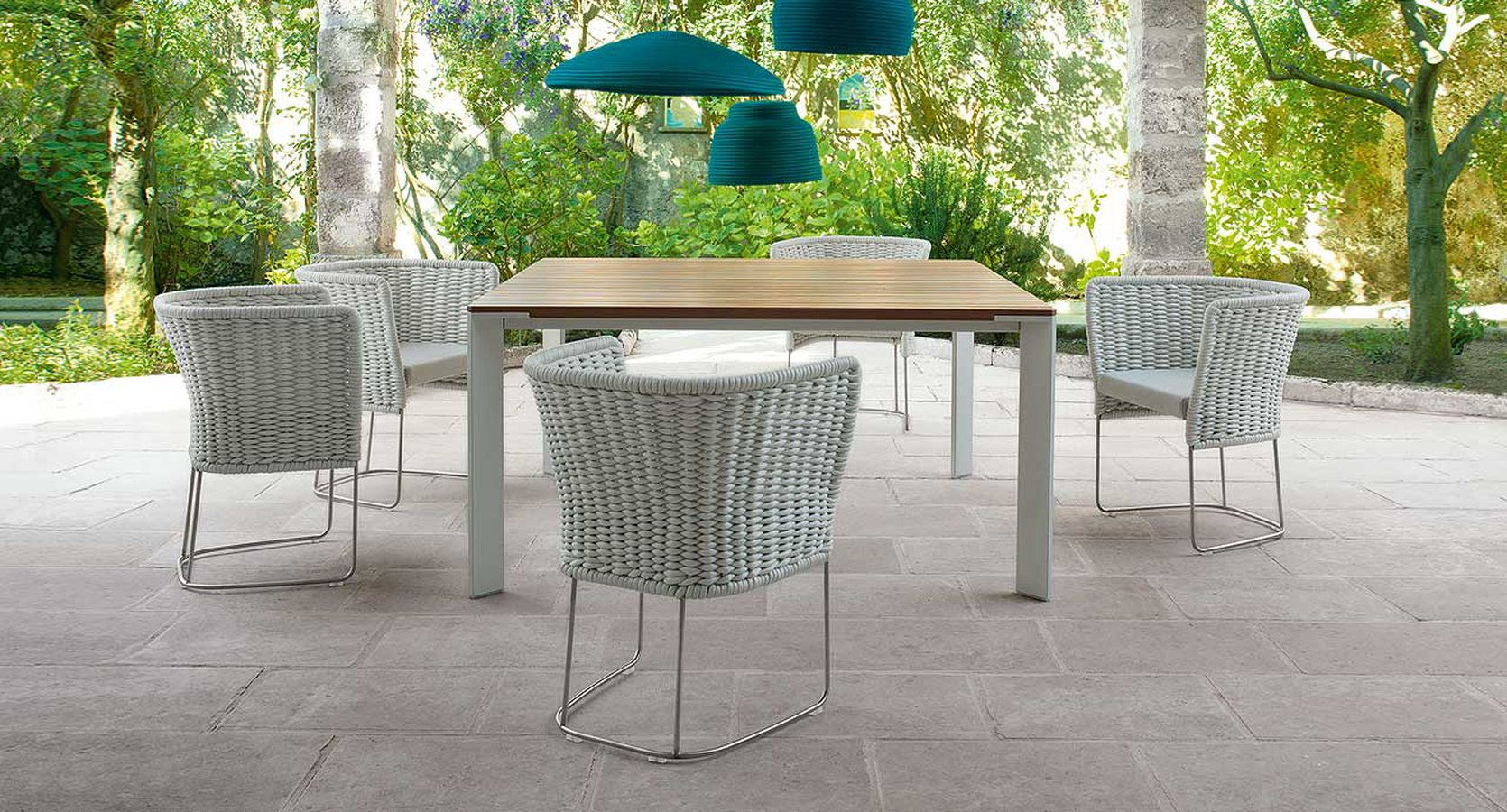 Comfort And Style Combine To Create Ami An Armchair Designed For Outdoor Living The Structure Is Made Of Stainless Steel Upholsteries Weaves