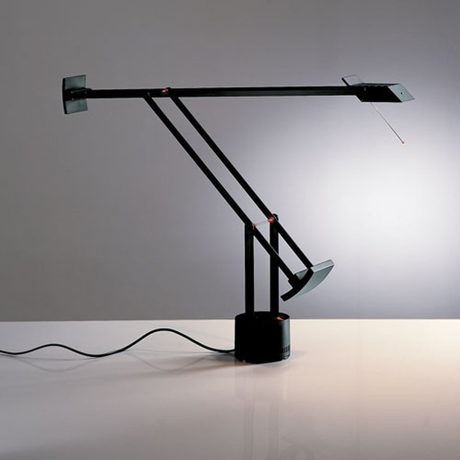 Tizio Micro Table Lamp By Artemide Ecc Nz Lighting Diagram The Is 40percent Smaller Than Classic Composed Of Fully Adjustable Electrical Conductor Arms With Counter