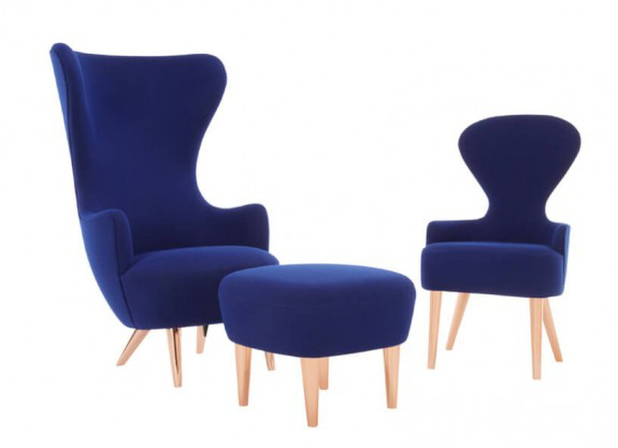 Wingback Dining Chair By Tom Dixon Ecc