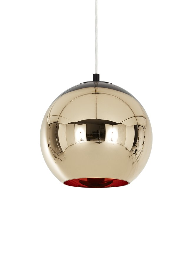 Copper bronze shade by tom dixon ecc for Bronze floor lamp nz