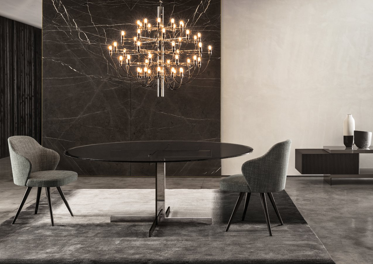 Catlin Dining Table By Minotti Ecc