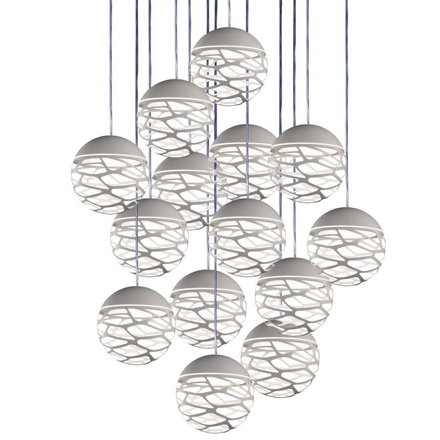 The Kelly Cluster Line Combines Groups Of Kelly Spheres In Clusters Going  From 1 To 36 Pendants In A Single Canopy. Each 7u201d Diameter Sphere Is  Powered By A ...