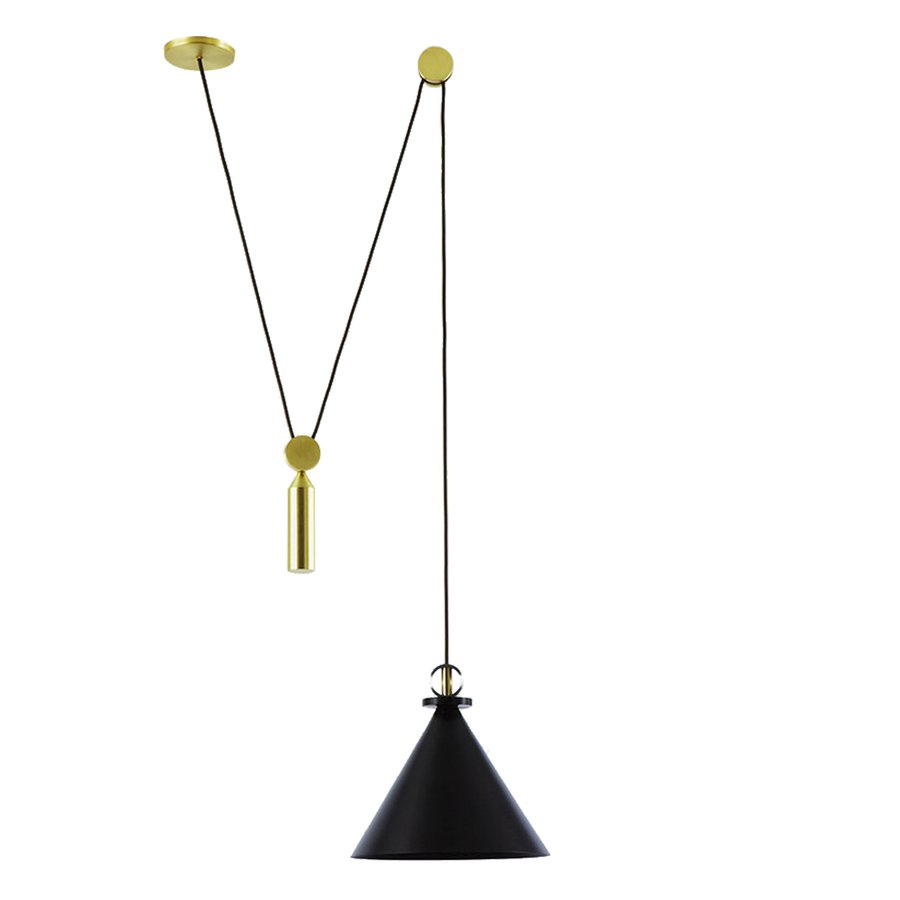 Shape up cone pendant by roll hill ecc shape up is a versatile lighting series celebrating geometric shapes these playful collages upend traditional notions of symmetry in favor of a dynamic aloadofball Gallery