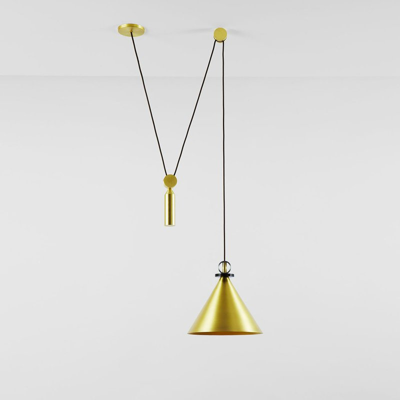 Shape Up Cone Pendant By Roll Amp Hill Ecc