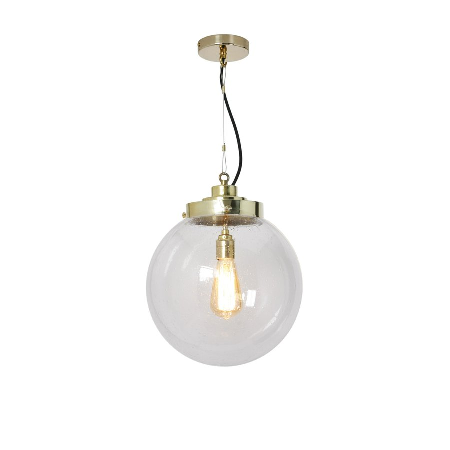 An Elegant Gl Globe Pendant Light Available In 3 Diffe Sizes And Various Finishes Colours Choose Between Opal Anthracite