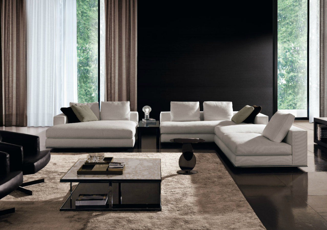 hamilton sofa by minotti ecc. Black Bedroom Furniture Sets. Home Design Ideas