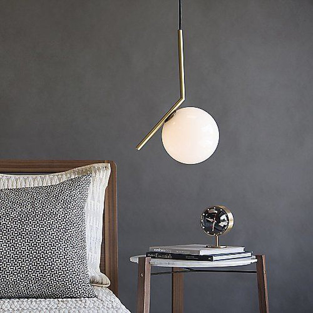 10 Ways To Use Pendants As Bedside Lights