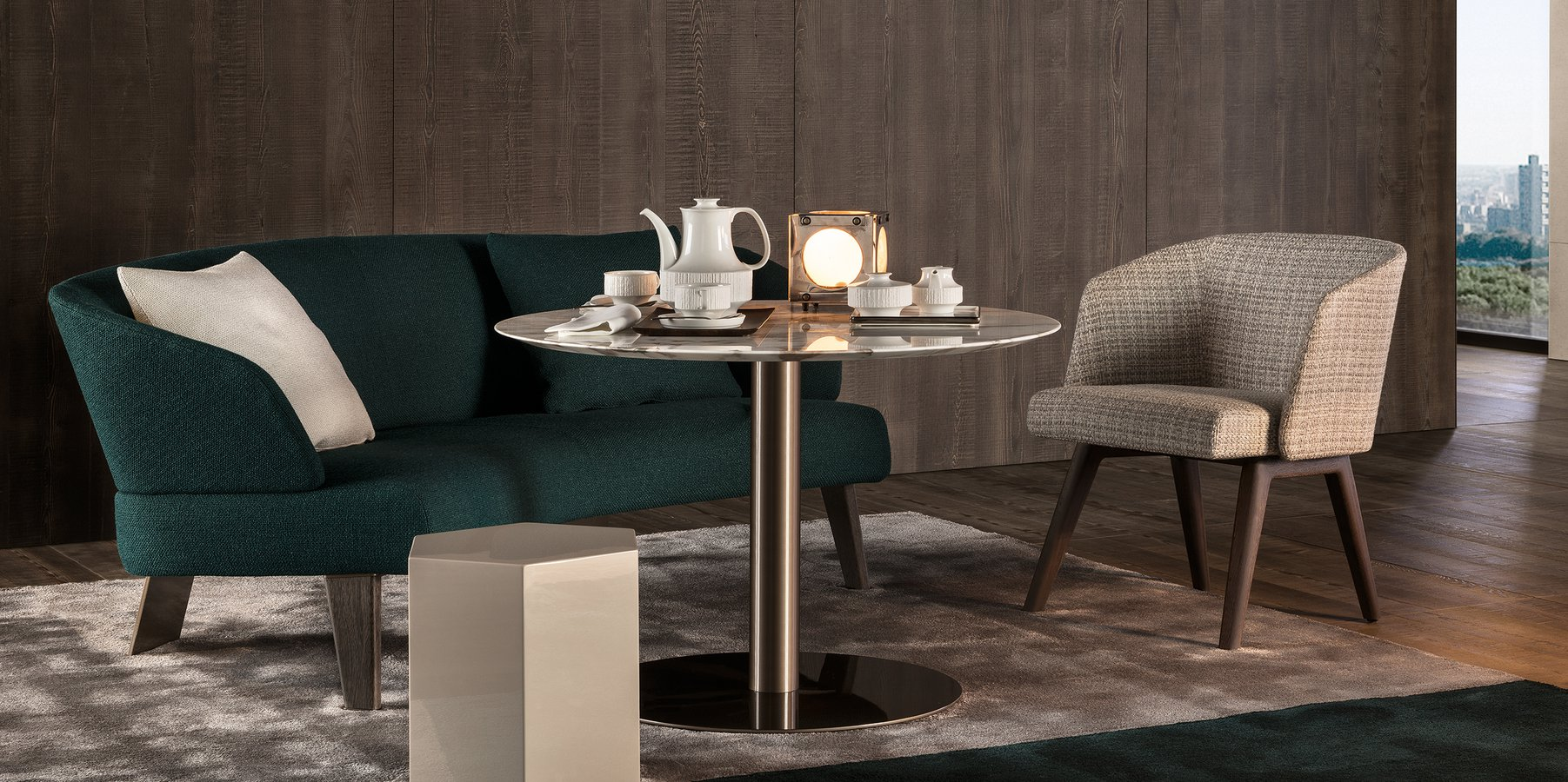 Bellagio Lounge Coffee Table By Minotti Ecc