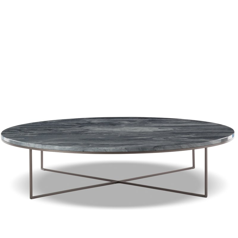 Silver Coffee Table New Zealand: Calder Bronze Coffee Table Round By Minotti —