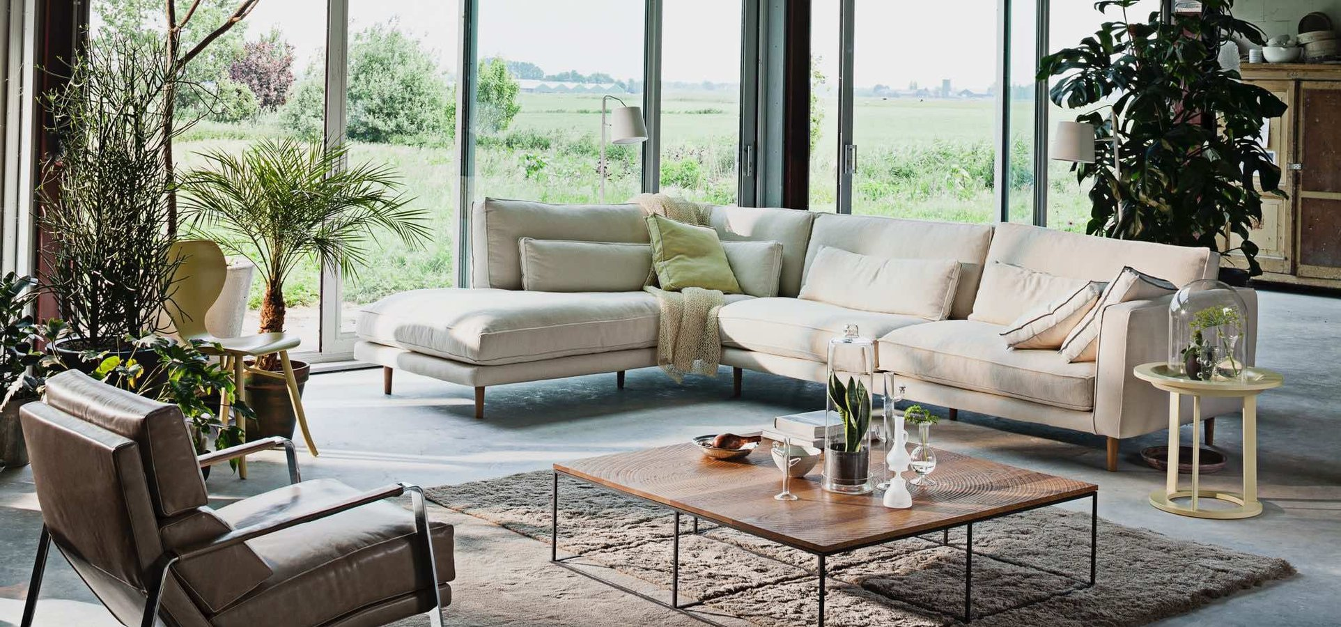The Pleasure Sofa By Linteloo Lab Has Been Inspired By The Scandinavian  Lifestyle But With A Whiff Of Easy Living Translated To Our Time: Sober, ...