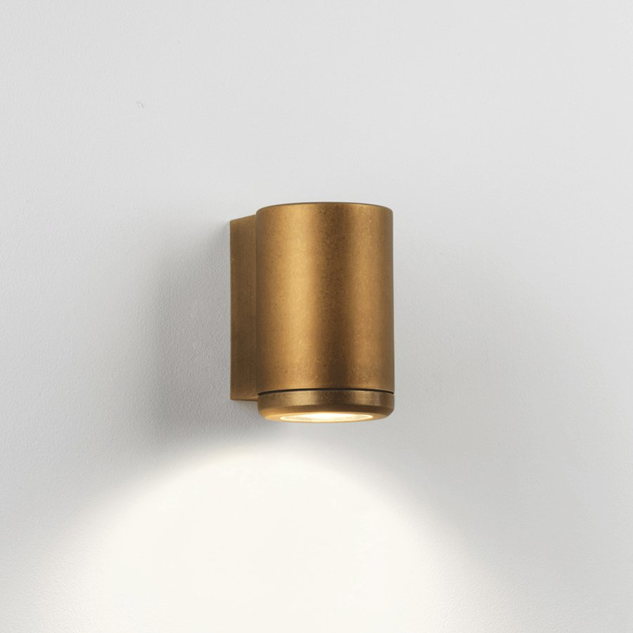The Jura Single From Astro Lighting Is A Gorgeous Exterior Wall Light Constructed Of Solid Brass With An Antique Finish It Designed To Withstand